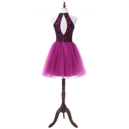 Charming Homecoming Dress, Tulle Pu..