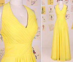 Simple Yellow V Neck..