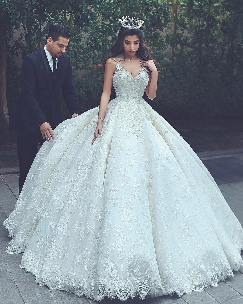 Wedding Gowns: Lace Wedding Gowns,princess Wedding Dress,ball Gowns