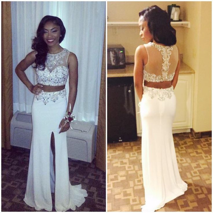 2016 Two Piece Prom Dresses For Women 300c058b8c50