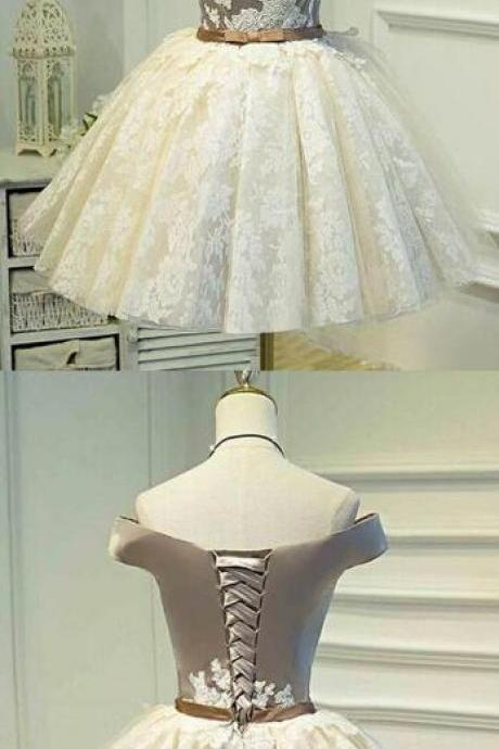 Pretty Short Prom Dresses,Sexy Homecoming Dresses,Cocktail Dress,Short Homecoming Dress,Graduation Dress,Party Dress,Lace Homecoming Dress