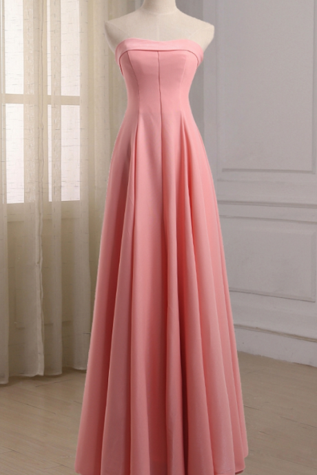 The long evening dress empire homemade formal party dress