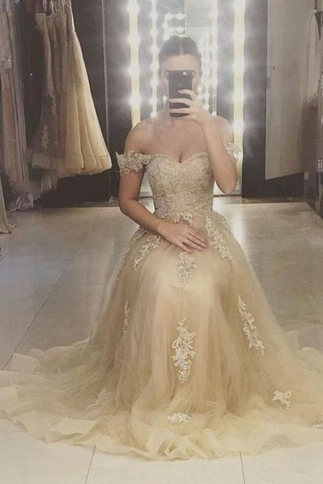 Lace Appliques Bridesmaid Dresses,Long Bridesmaid Dresses,Off the Shoulder Bridesmaid Dresses,Cheap Bridesmaid Dresses