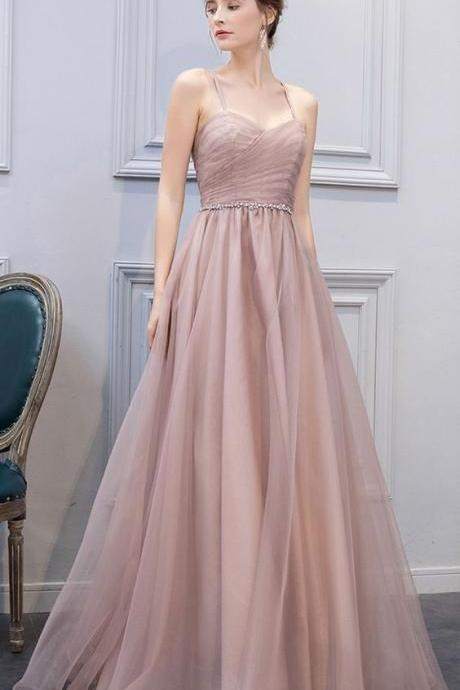 Stylish A-Line Sweetheart Champagne Long Prom Dress,Long Evening Dress , Party Dresses, Long Prom Dress,Graduation Dress