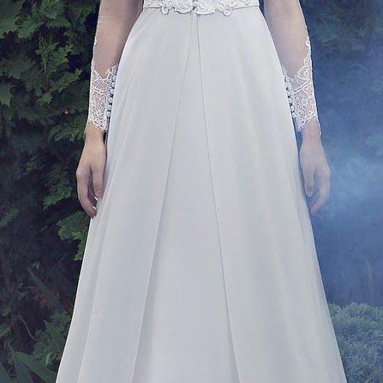 A-line/Princess Prom Party Dresses ,Luxurious High Neck Formal Dresses ,Long Sleeves Bridal Dress,High Quality ,Sexy Formal Evening Dress,Custom Made