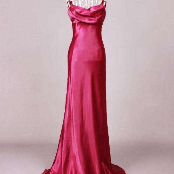 2015 New Hot Bridesmaid dresses Toast the bride wedding dresses evening dress Trailing dress long purple euramerican star model performance Evening Gowns Prom Gowns